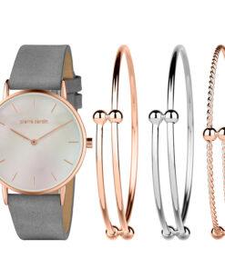 Pierre Cardin Geschenk Set Uhr & Armband PCX7560L304