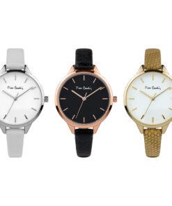 Pierre Cardin Geschenk Set Uhr 3 Modelle PCX7967L364
