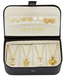 Pierre Cardin Schmuck-Set Halskette & Ohrringe PXX0180Q